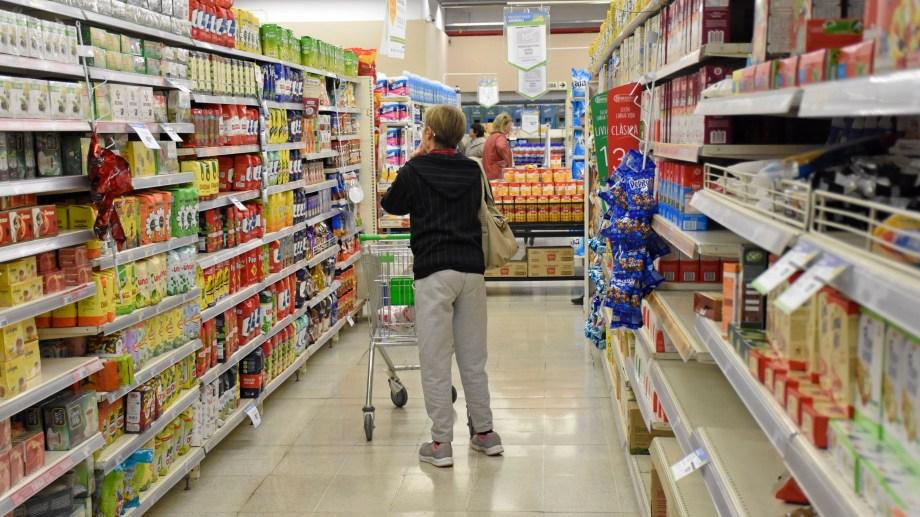 La inflación acumulada  en Neuquén es del 44,21 por ciento. Foto: Florencia Salto