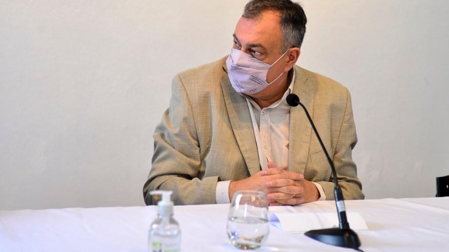 El intendente Gustavo Gennuso tenía apuro el año pasado con su proyecto de subasta pero pasó un año y sigue sin concretarse. Foto: Alfredo Leiva
