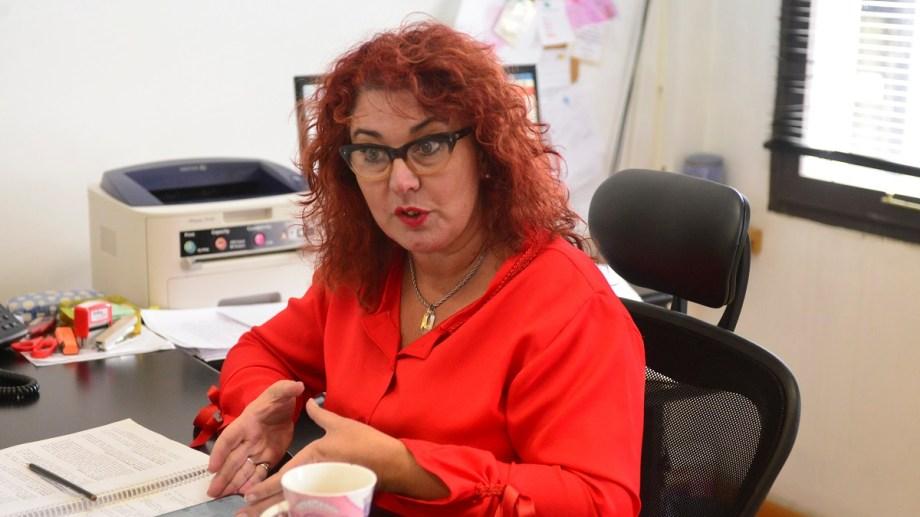La jueza de Familia de Bariloche Cecilia Criado es una de las postulantes a cubrir una de las vacantes en el máximo tribunal rionegrino. (foto Alfredo Leiva)