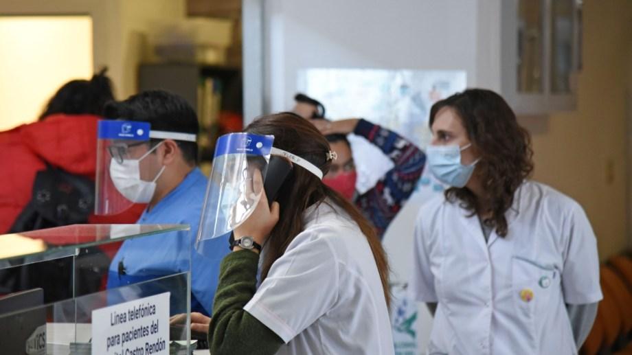 El sistema de salud de Neuquén continúa colapsado. Foto: Florencia Salto