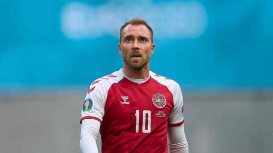 """El volante de Dinamarca agradeció """"la gran cantidad de buenos deseos"""" recibidos en estos días."""