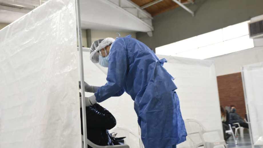 El operativo detectar en Neuquén. Foto: Florencia Salto