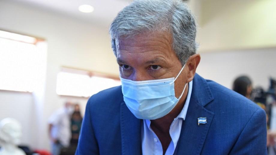 Guillermo Monzani, exintendente y concejal de la UCR en Juntos por el Cambio, quiere renovar su banca. (foto archivo Florencia Salto)