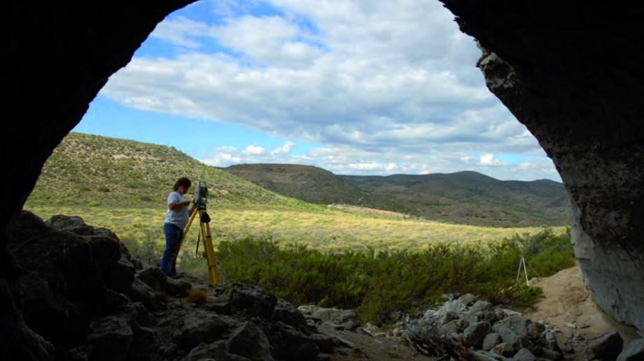 La Cueva Epullán Grande mostró una secuencia de distintos poblamientos en Neuquén. Foto: Gentileza
