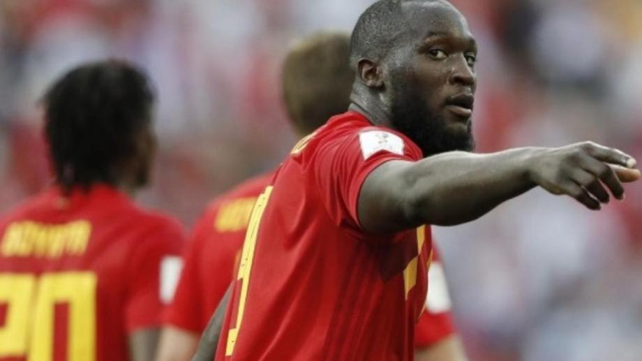 Romelu Lukaku, el arma de gol más temible de Bélgica, que se enfrenta a Rusia en San Petersburgo.