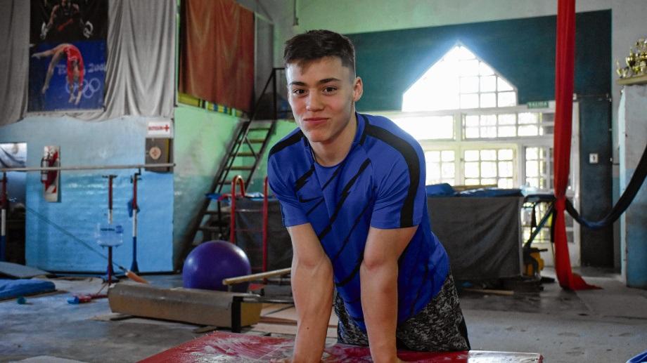 Fausto Catini se va para México, donde competirá a partir del próximo viernes. Foto: Andrés Maripe.