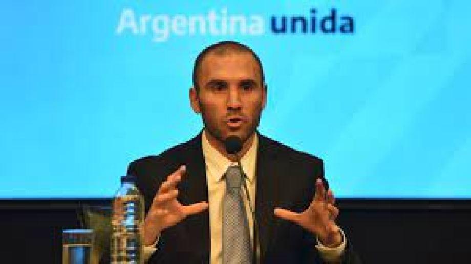 El ministro de Economía desembarcó anoche en Bariloche. Foto: archivo