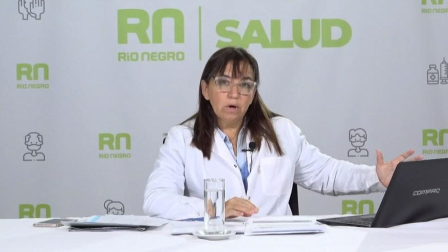 La secretaria de Salud, Mercedes Iberó, instó a mantener las medidas preventivas en la previa del Día del Padre.