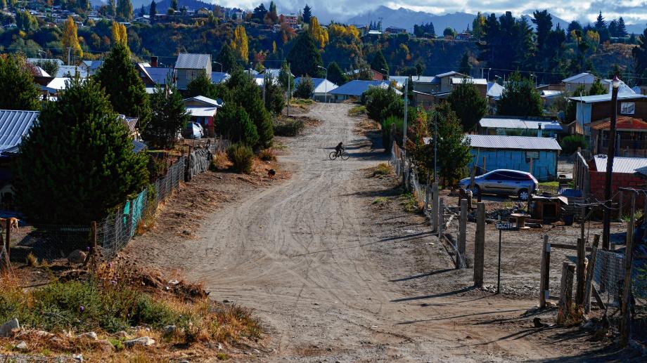 El barrio Alun Ruca está asentado en un predio de 20 hectáreas. Foto: archivo