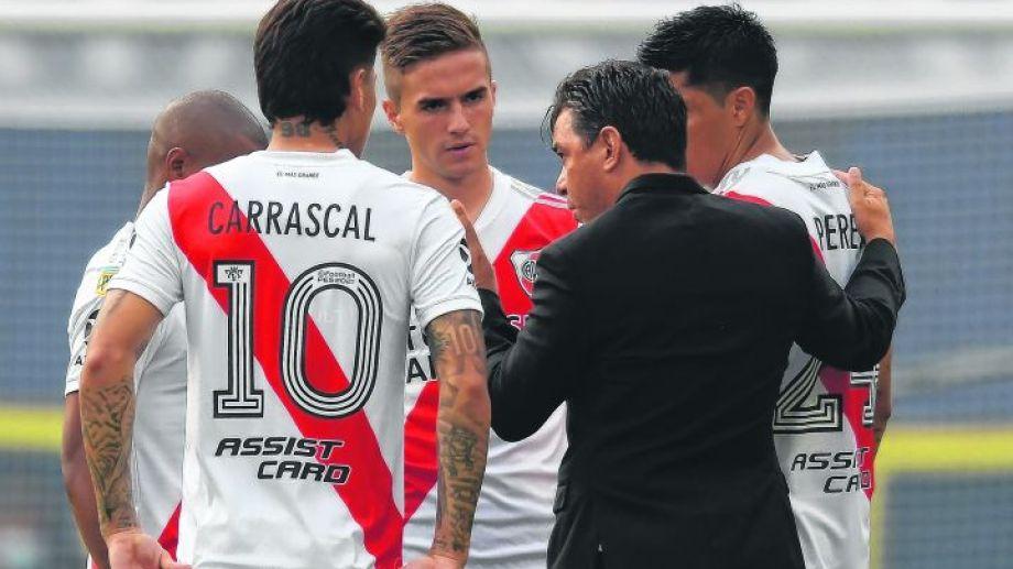Marcelo Gallardo ya piensa en el equipo del segundo semestre.
