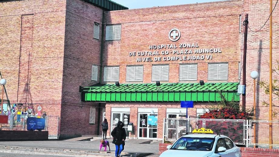 El hospital local absorbe toda la demanda en pandemia. Foto archivo.