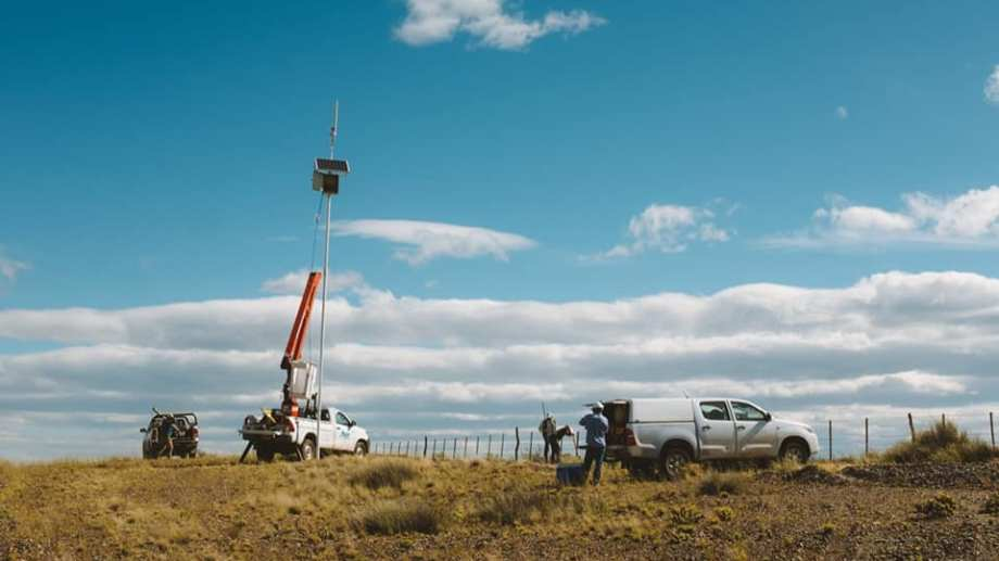 En los primeros 270 kilómetros de la ruta 23 hay 12 puntos Wi-Fi.. Algunos no funcionan. Foto: gentileza.