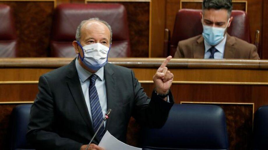 El ministro de Justicia, Juan Carlos Campo. Foto: Emilio Naranjo, para EFE.-
