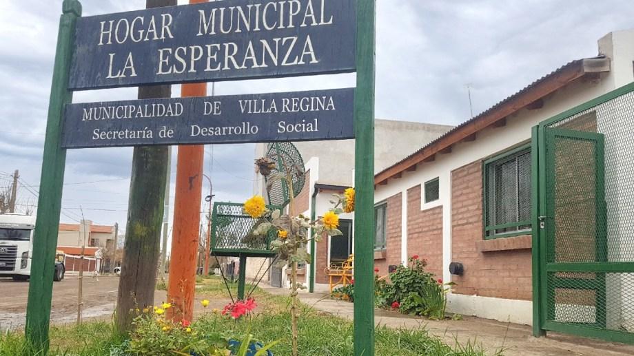 El Consejo Local de Mujeres rechazó el cierre del Hogar La Esperanza. (Foto Néstor Salas)