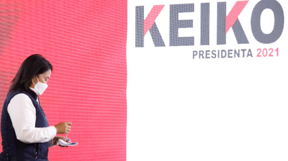 "Keiko Fujimori denunció ""irregularidades"" en conferencia de prensa. Foto: AP"