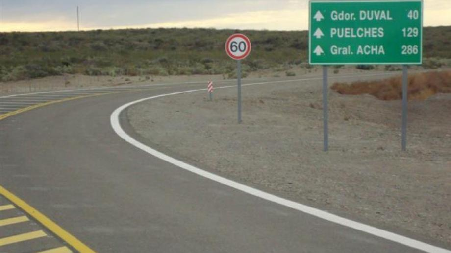 La Ruta 232 fue reconstruida entre Chelforó y La Japonesa, pero no así en territorio pampeano.