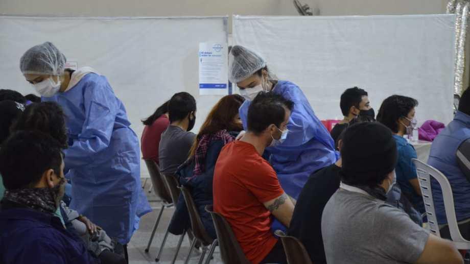 Uno de los operativos  de vacunación será en el Colegio Don Bosco de Neuquén. Foto: Yamil Regules.
