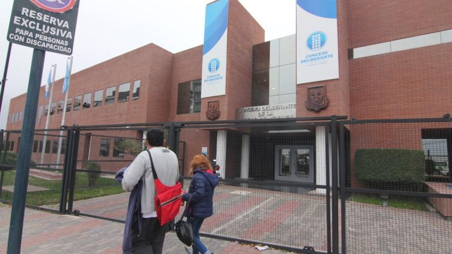 El Concejo Deliberante de Neuquén sesionará este jueves (foto Oscar Livera)