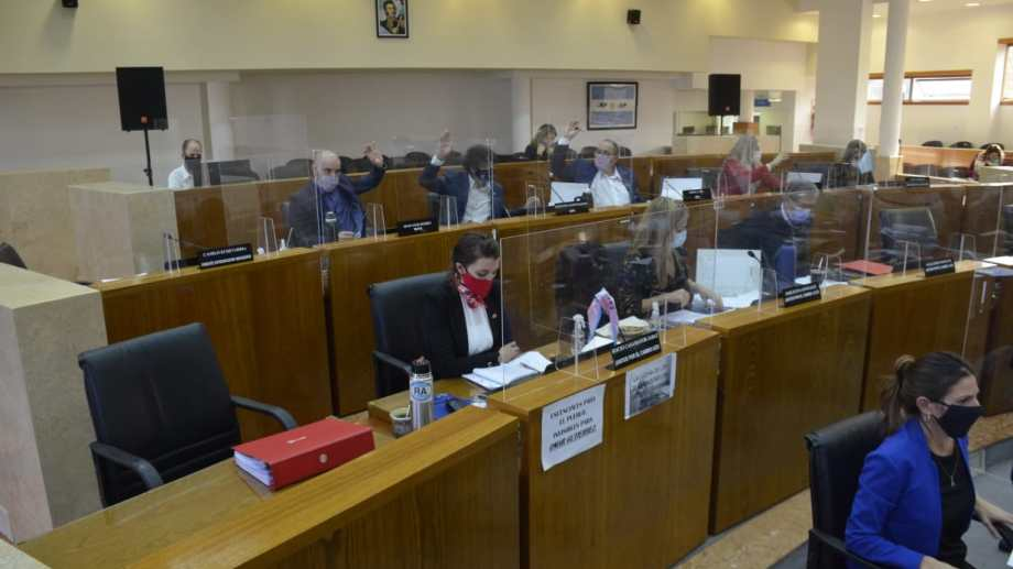 La enmienda se votó el jueves en una extensa sesión. Foto: Yamil Regules.