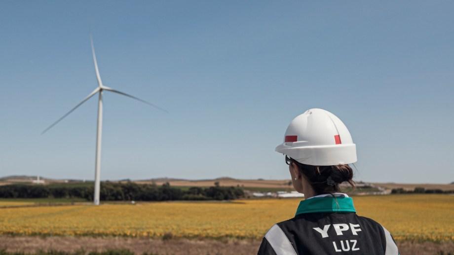 El parque eólico cuenta con 45 aerogeneradores instalados y tiene la capacidad de producir 838 GWh por año. (Foto: gentileza)
