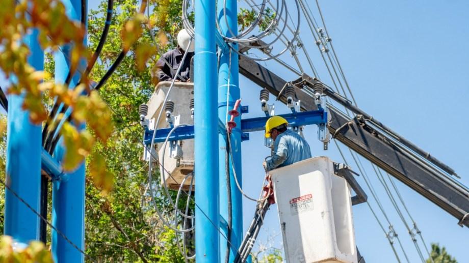 El corte del servicio eléctrico afectará al centro de Roca.