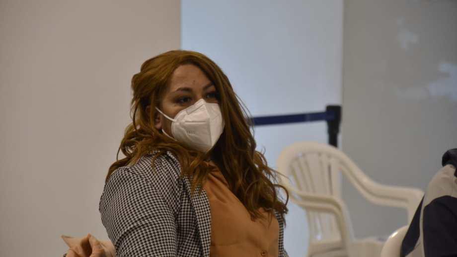 La testigo aseguró que declarar le permitió reparar vínculos con su historia de hija de un desaparecido. Foto Yamil Regules.