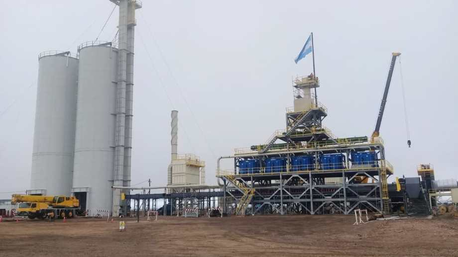 La planta procesará arenas de canteras ubicadas en la Línea Sur. Foto Gentileza.