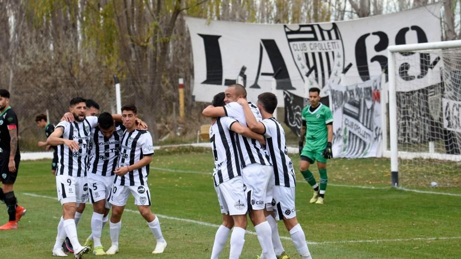 En Cipo es todo alegría. El equipo gana y se mantiene arriba. (Foto: Florencia Salto)