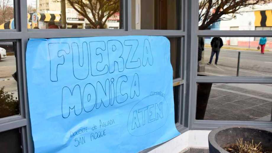 Mónica estuvo internada desde el día de la explosión y fue trasladada a Mendoza. Foto archivo: Florencia Salto