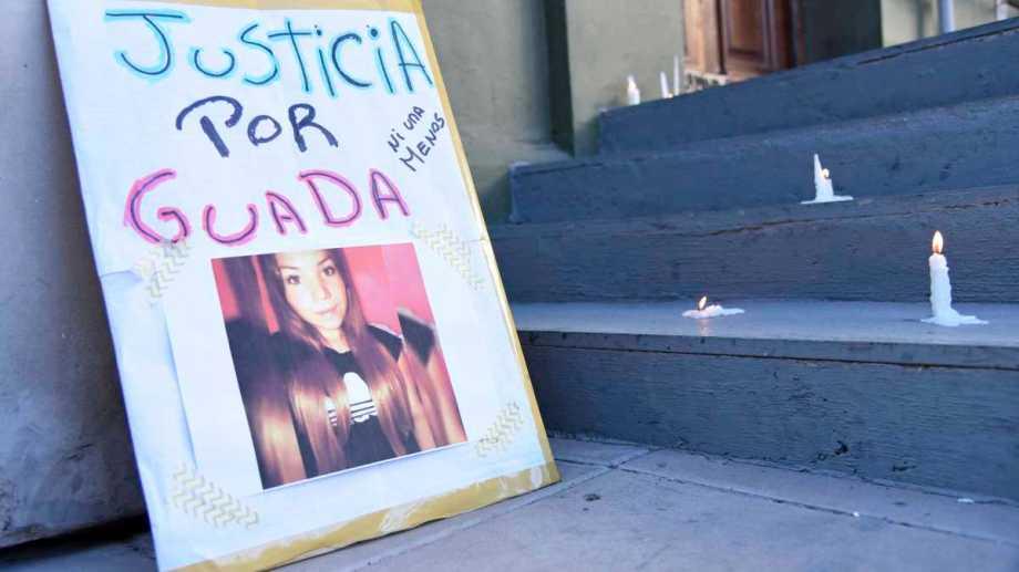 El femicidio de Guadalupe en Villa La Angostura desató la furia social porque el caso de la joven estaba judicializado. Foto archivo Florencia Salto.