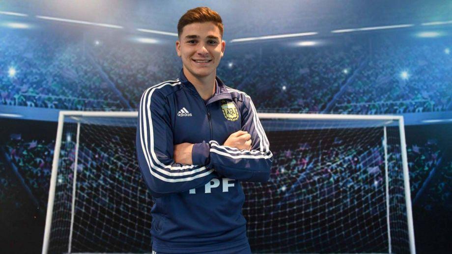 Álvarez es el más joven de la lista con 21 años.