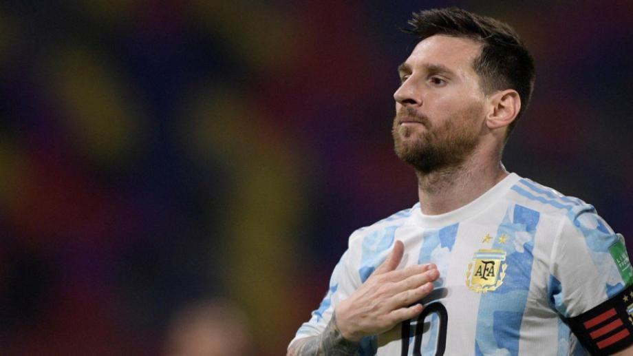 Lionel Messi, capitán de la selección argentina de fútbol.