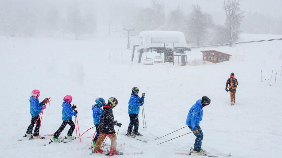 El centro de esquí de Chapelco. Foto: Patricio Rodríguez