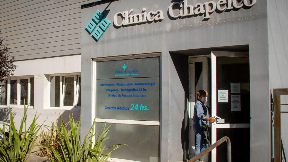 La Clínica Chapelco de San Martín de los Andes.  Foto: Patricio Rodríguez
