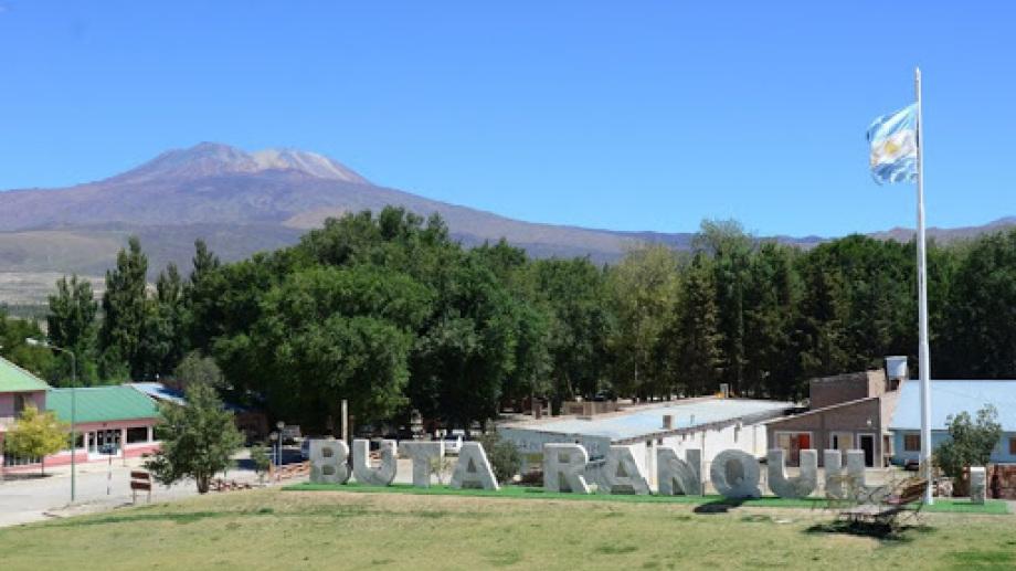 La localidad de Buta Ranquil. Foto: Archivo