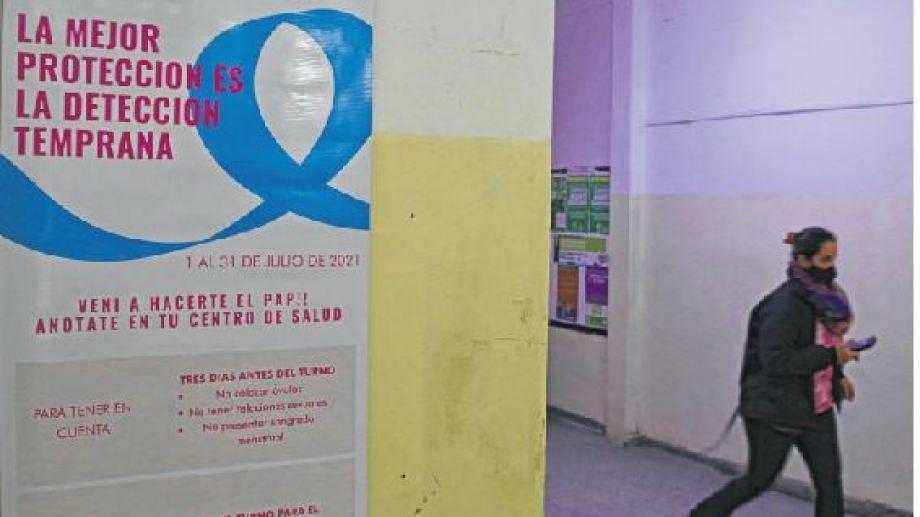 En el hospital la campaña se realizará lunes, miércoles y viernes de 11 a 13 horas. Pueden sacar turnos en ventanilla. Foto Juan Thomes