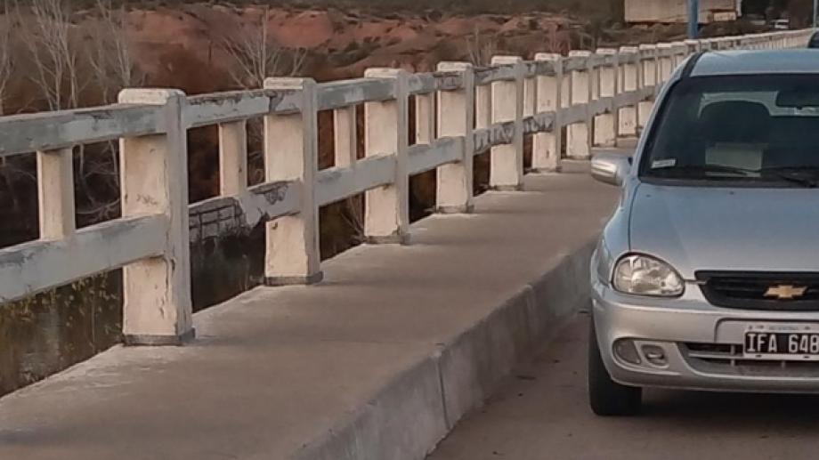 El vehículo fue encontrado en la zona de Paso Córdoba, cerca de las 8 de la mañana. (foto: gentileza)