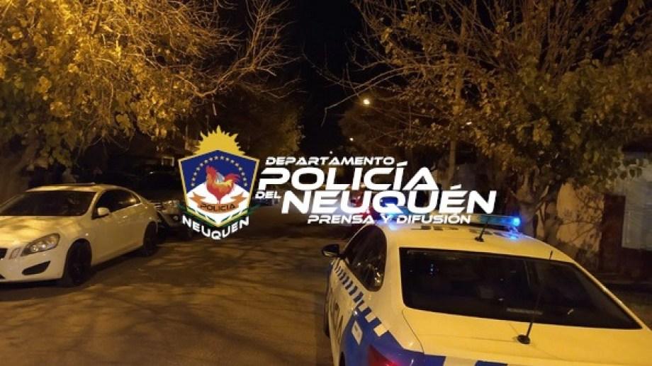 Los efectivos de Neuquén desactivaron la fiesta a la 5 de la mañana. Foto: Gentileza