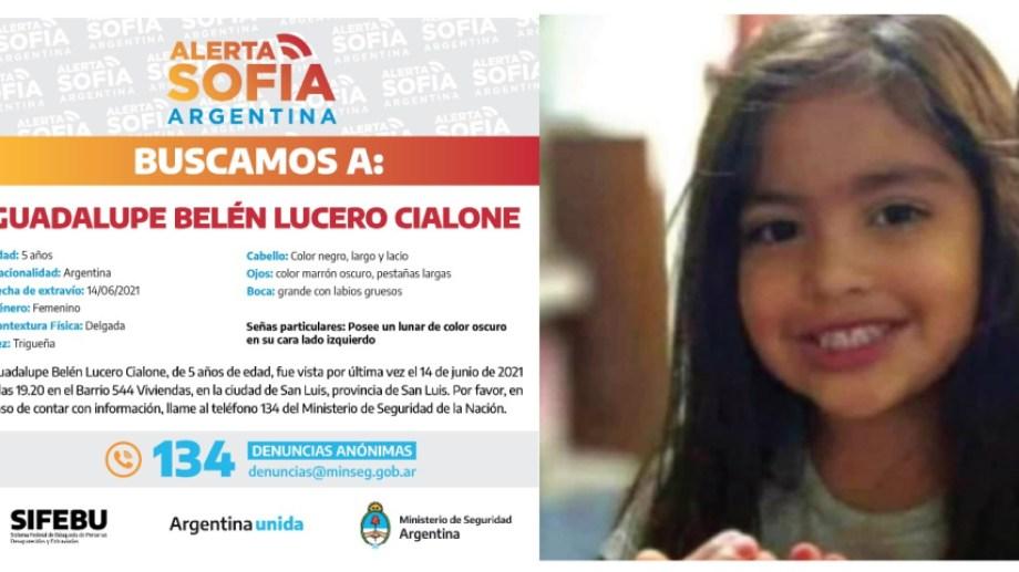 Retoman la búsqueda de Guadalupe Lucero con rastrillajes en el dique Cruz de Piedra en San Luis.
