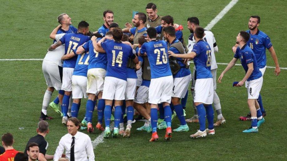 Italia festejó su tercera victoria consecutiva en la Euro y quiere pelear el título.