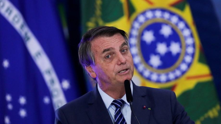 El presidente de Brasil, Jair Bolsonaro, respondió a los dichos de Alberto Fernández con una foto y una frase.