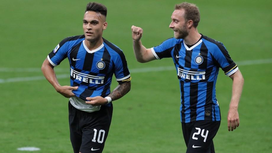 Lautaro le mandó fuerzas a su compañero del Inter.