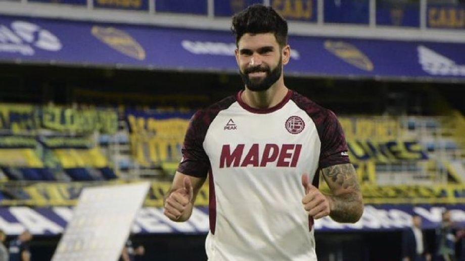 Boca le compró a Lanús el 50% del pase de Orsini.