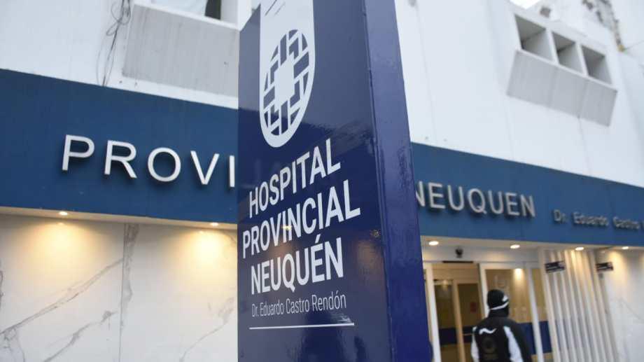 La niña fue hospitalizada en el Castro Rendón de Neuquén. (archivo)