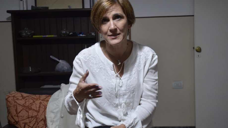 Barabini es secretaria de Género en el PJ. Foto: archivo Yamil Regules.