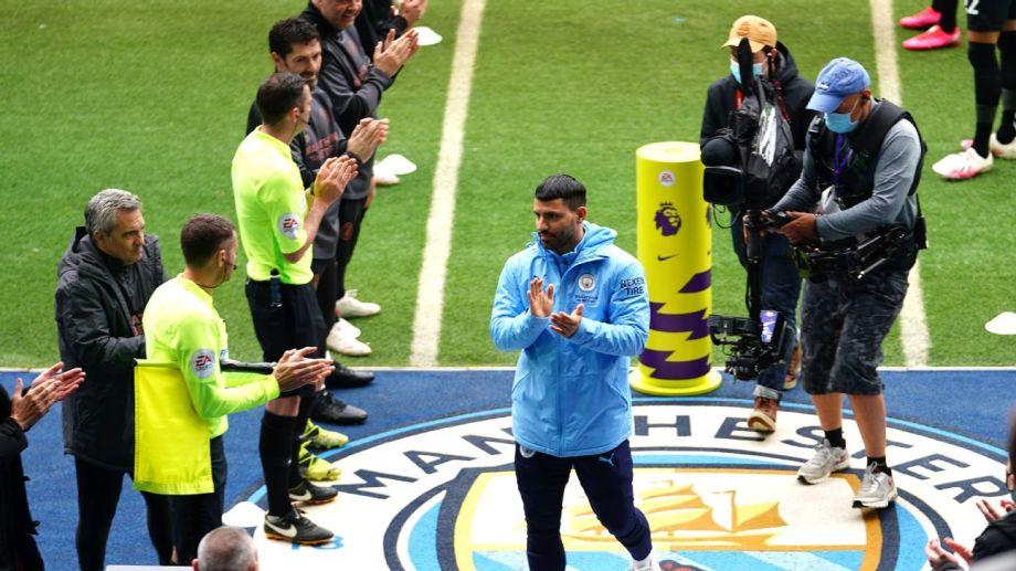 Agüero tuvo un importante gesto con los empleados del Manchester City.