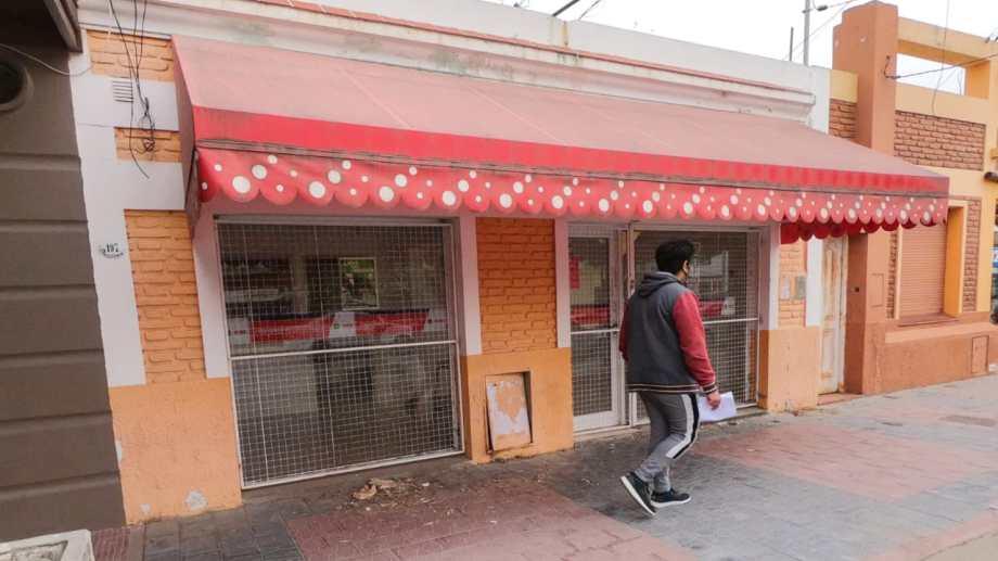 El local está ubicado en la calle Victoria. Foto: Martín Brunella.
