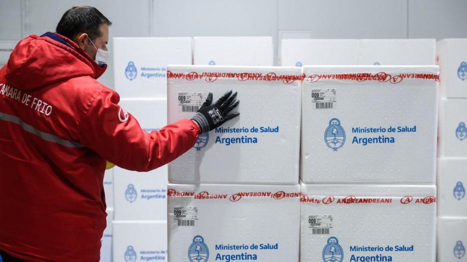 El gobierno nacional aseguró la distribución entre hoy y el viernes. Foto: gentileza.