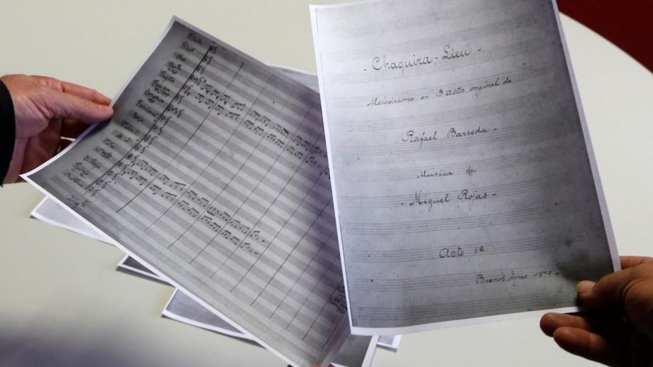 Se trata de un melodrama con música de Miguel Estanislao Rojas ( 1845 - 1904) y libreto de Rafael Barreda (1847 - 1927).