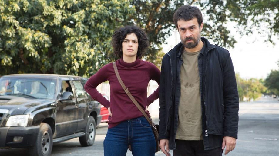 """María Flor y Erom Cordeiro, protagonistas de """"Los ausentes"""". (Foto: Prensa/Télam/CBRI)."""